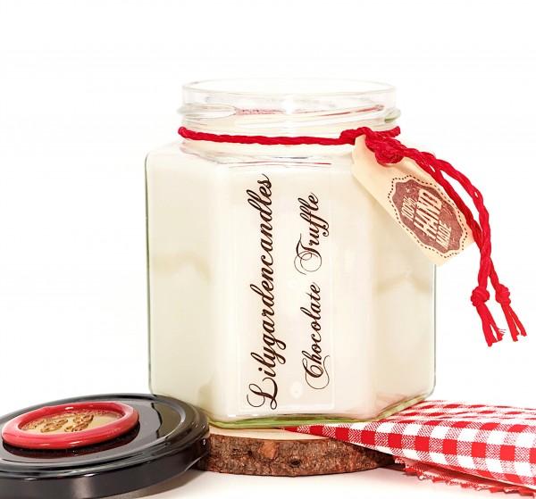 Chocolate Truffle Country House Jar large
