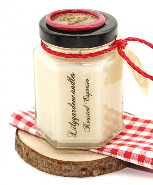 Roasted Espresso Country House Jar small