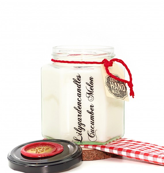 Cucumber Melon Country House Jar large