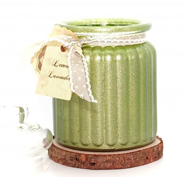 Lemon Lavender Antique Jar