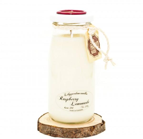 Raspberry Lemonade Milk Bottle