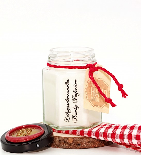 Peachy Perfection Country House Jar small