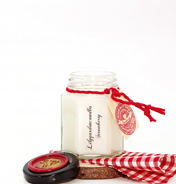 Strawberry Country House Jar small