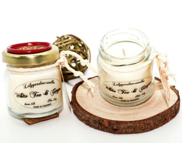 White Tea & Ginger Tealight Jar