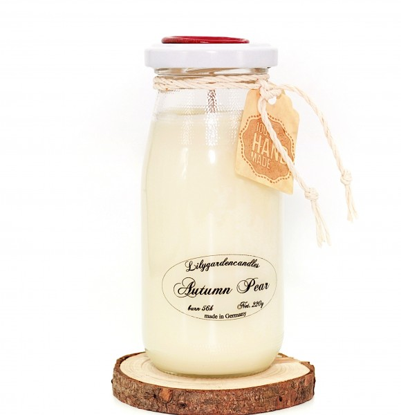 Autumn Pear Milk Bottle large
