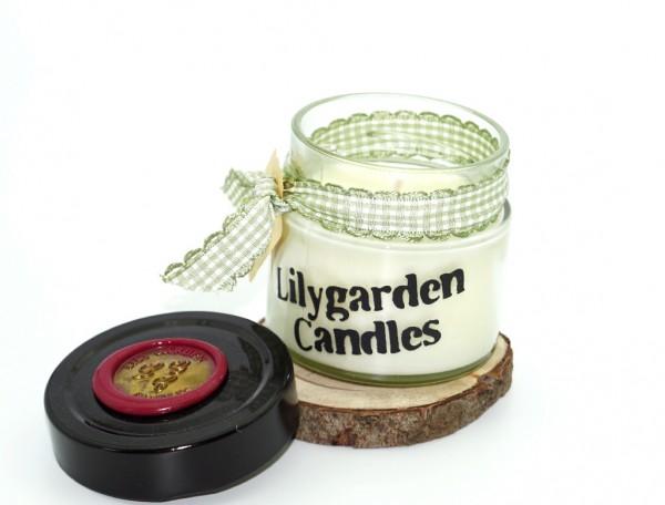 Caramel Lily Round Jar small