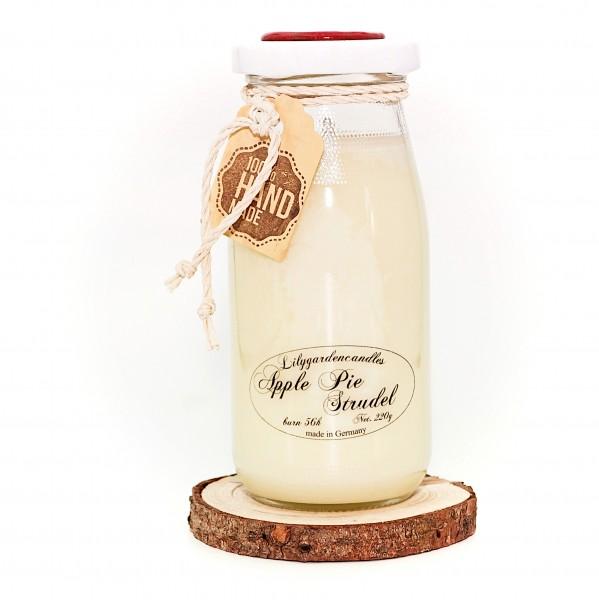 Apple Pie Strudel Milk Bottle large