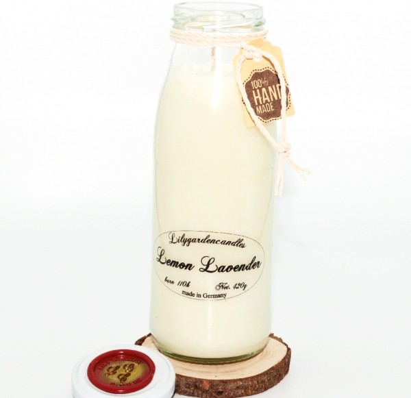 Lemon Lavender Milk Bottle large XL