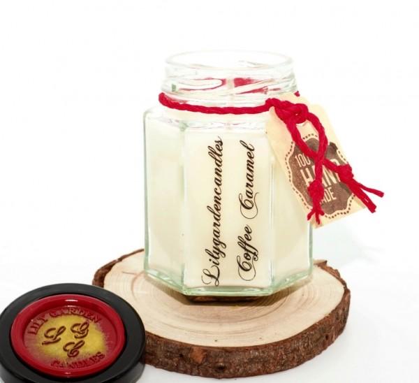Coffee Caramel Country House Jar small