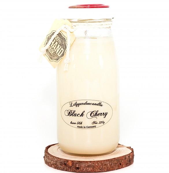 Black Cherry Milk Bottle large