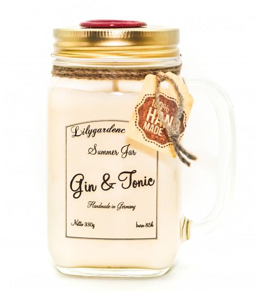 Gin & Tonic Summer Jar