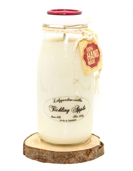 Tickling Apple Milk Bottle large
